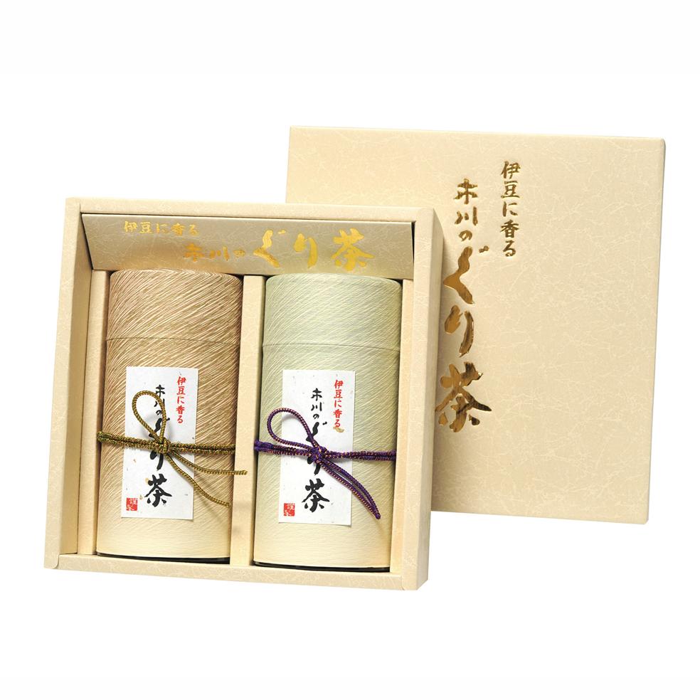 流縞(ナガレジマ) 特撰ぐり茶 150g×2本セット箱入(定番)