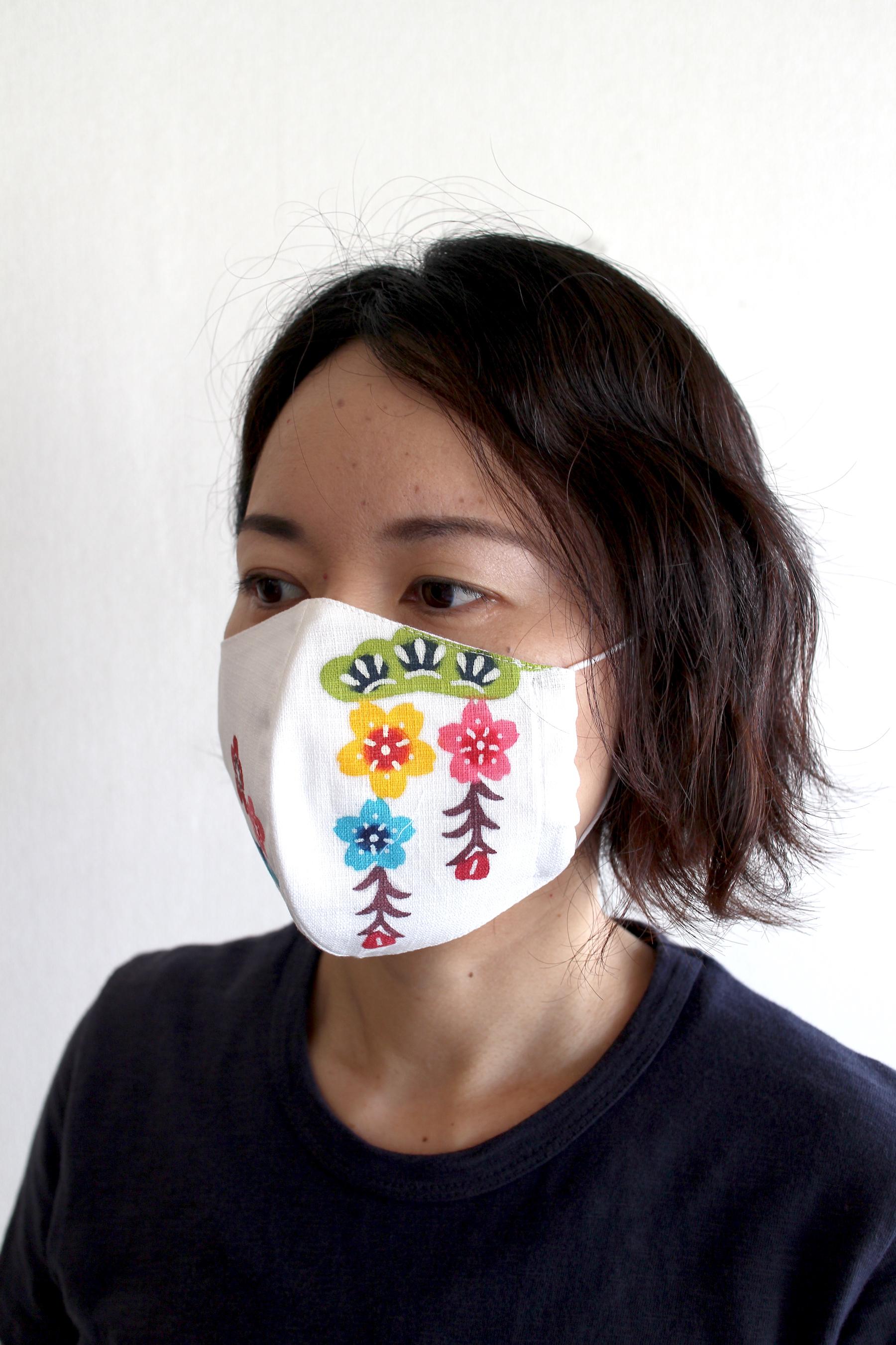 紅型マスク