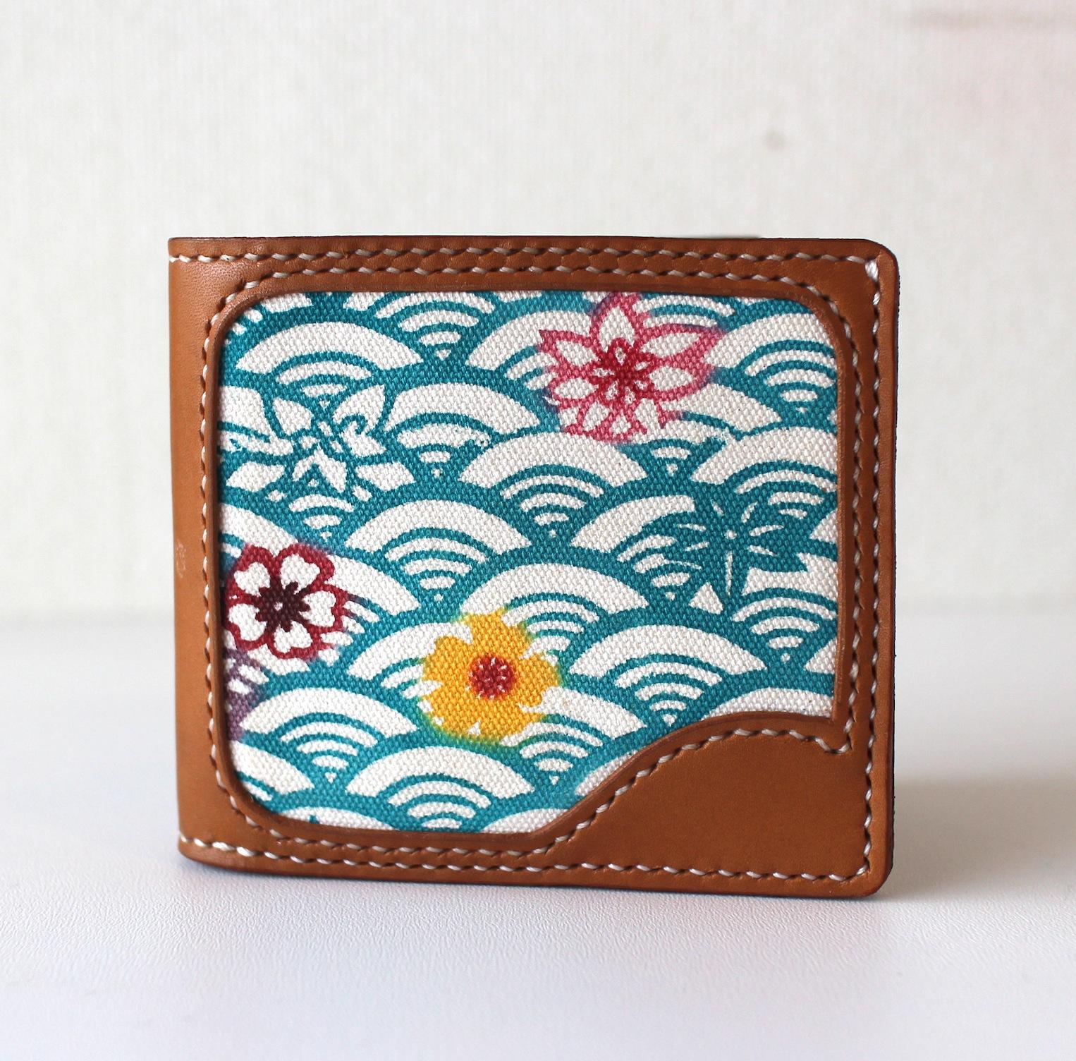 沖縄紅型財布