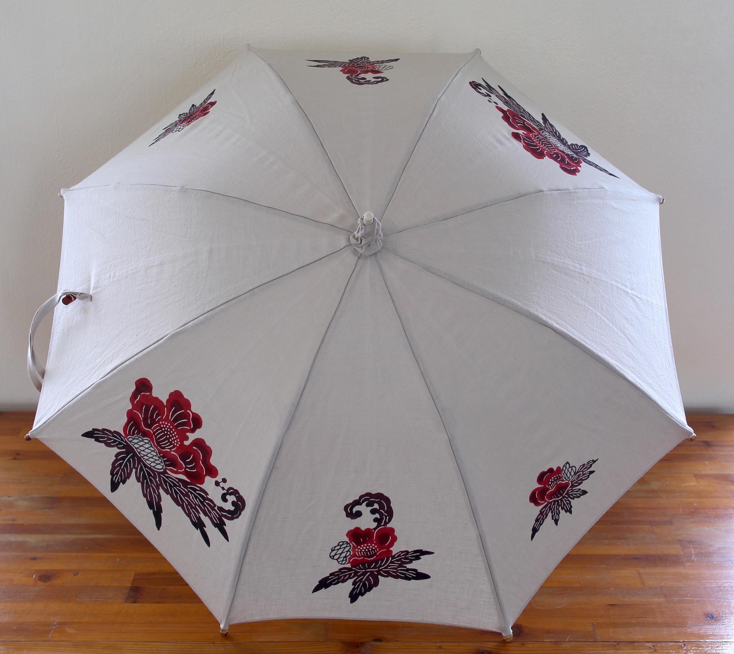 日傘(牡丹)