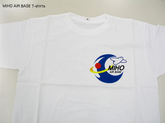 g20130423 美保基地ロゴTシャツ(綿100%)