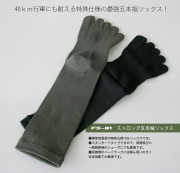 FS-01 ガッツマン2 ストロング五本指ソックス