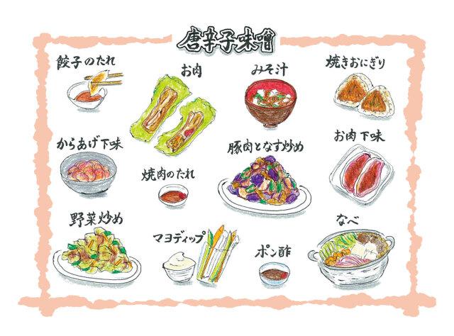 唐辛子味噌美味しい食べ方