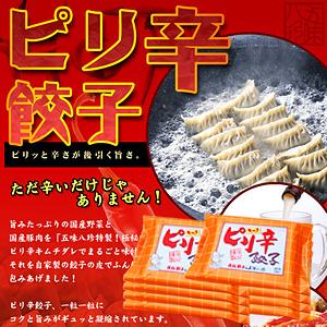 ピリ辛餃子(キムチ餃子) 112個入(14個×8P)【浜松餃子の五味八珍】