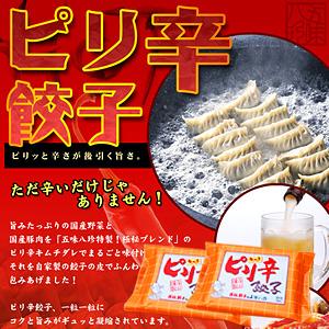 ピリ辛餃子(キムチ餃子) 28個入(14個×2P)【浜松餃子の五味八珍】