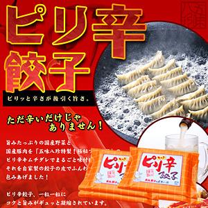 ピリ辛餃子(キムチ餃子) 56個入(14個×4P)【浜松餃子の五味八珍】