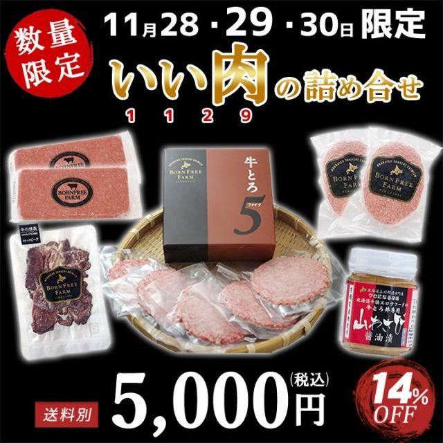 いい肉の詰合せ 14%OFF 11月29日限定 いい肉の日