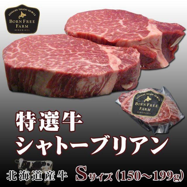 特選牛シャトーブリアン Sサイズ150~199g
