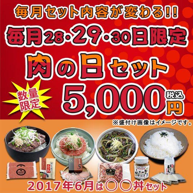 肉の日セット【1706】