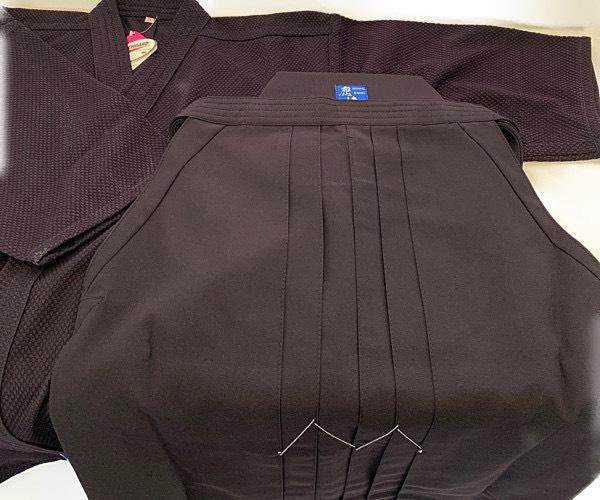 藍染風ジャージ剣道着・袴セット