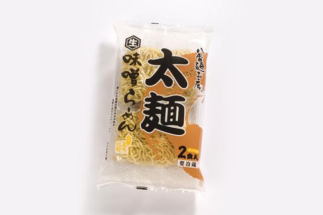 太麺 味噌