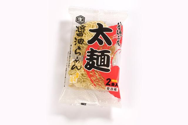 太麺 醤油