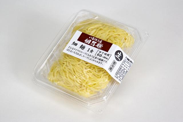 個乃麺 細麺