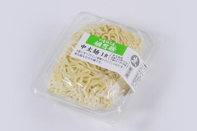 個乃麺 中太麺