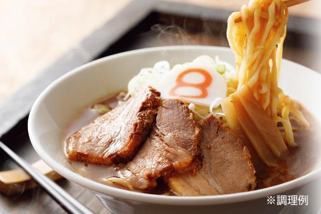 八番麺 太麺(4食入り)
