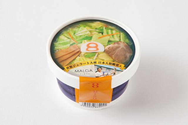 8番らーめんアイス 味噌