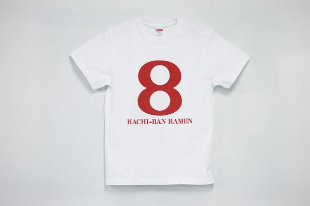 Tシャツ「hachiban-ramen」