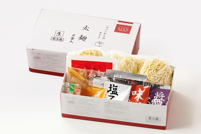【期間・数量限定】太麺(4食入り)
