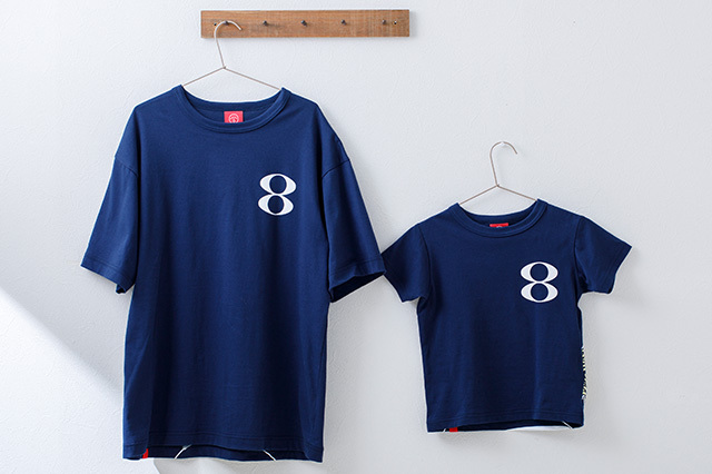 「浪裏」8番らーめん × OJICOコラボTシャツ