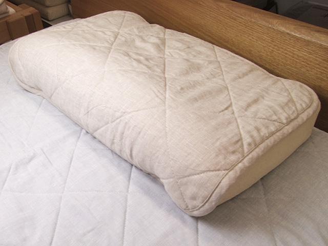 涼感、快眠本麻まくらパッド