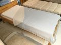 【夏に涼しく家庭で洗える】三重織り綿麻ガーゼケット