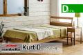 木製ベッドフレーム(マットレス別売) Kurt2 クルト ダブルサイズ -ウッドスプリング仕様-