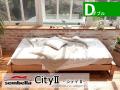 木製ベッドフレーム(マットレス別売) City2 シティー2 ダブルサイズ
