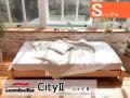 木製ベッドフレーム(マットレス別売) City2 シティー2 シングルサイズ