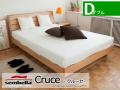木製ベッドフレーム(マットレス別売) Cruceクルーセ ダブルサイズ