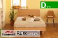 木製ベッドフレーム(マットレス別売) Ruskラスク ダブルサイズ