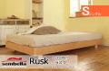 木製ベッドフレーム(マットレス別売) Ruskラスク ヘッドレス シングルサイズ -ウッドスプリング仕様-