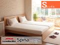 木製ベッドフレーム(マットレス別売) Spinaスピナ シングルサイズ