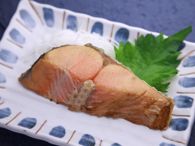 熟成紅鮭直火焼