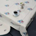 テーブルクロス ビニールコーティング オロペサ(大柄) 135×135cm正方形 /135×180cm長方形