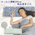低反発枕(ピロー) ダブルサイズ 横長 ロング SP-4 硬め