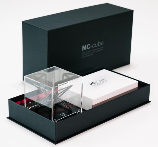 NCキューブ化粧箱