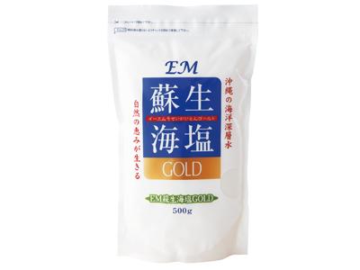 EM蘇生海塩GOLD500g