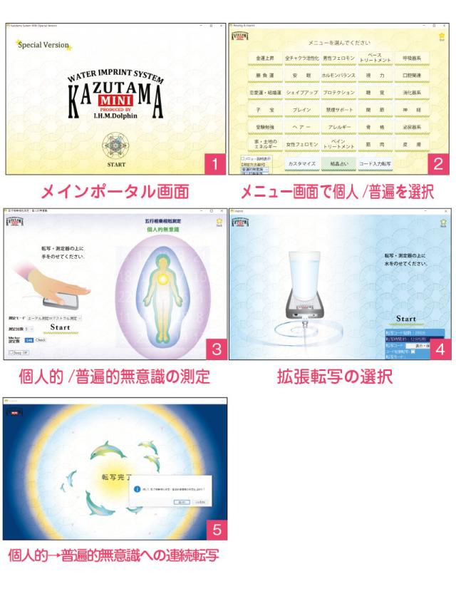 数霊MINI スペシャルバージョンアップCD-R画面
