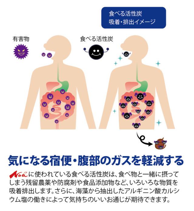 食べる活性炭Noa イメージ2