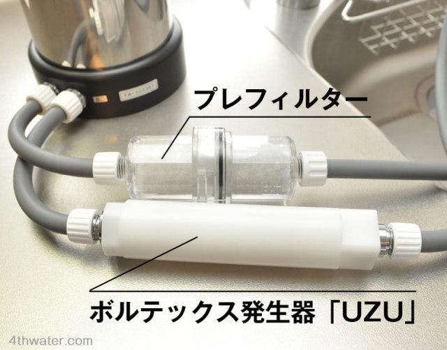 ボルテックス発生器UZU