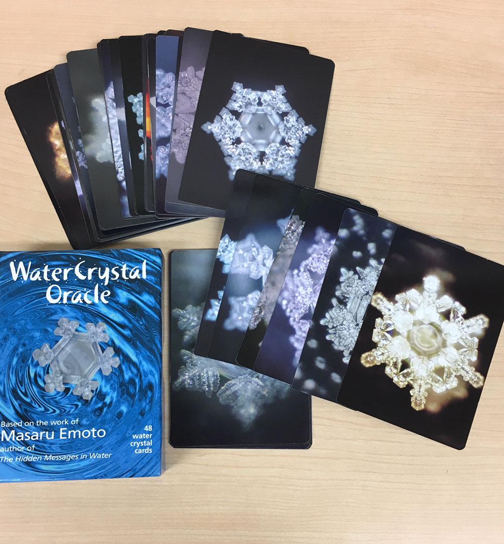 水の結晶オラクルカード/Water Crystal Oracle