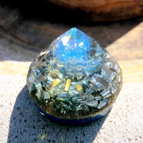 目覚めの月光 ダイヤモンド型オルゴナイト2