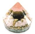 愛の勇気 ダイヤモンド型オルゴナイト