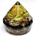 豊かさの太陽 ダイヤモンド型オルゴナイト