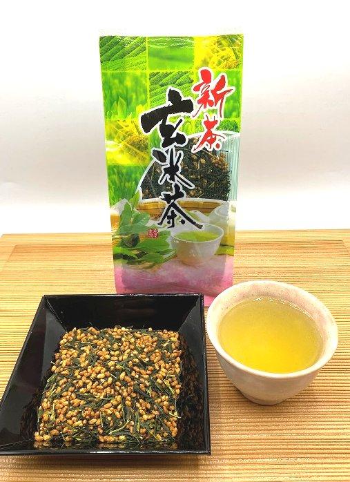 【新茶】玄米茶200g <鹿児島県産>