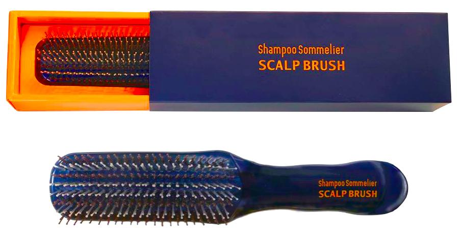 シャンプーソムリエ スカルプブラシ☆とかすだけで超美振動で頭皮と髪を綺麗にしながらリフトアップ !