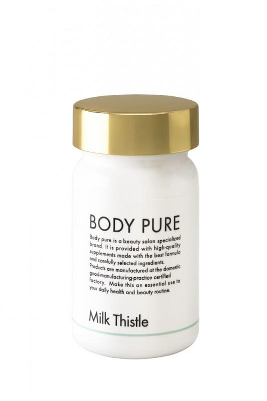 BODY PURE ミルクシスル 90カプセル 医療レベルの肝臓にきくサプリメント