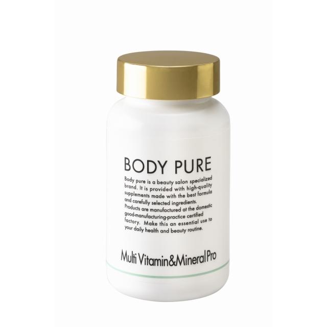 BODY PURE マルチビタミン&ミネラル プロ 210粒 医療レベルのサプリメント