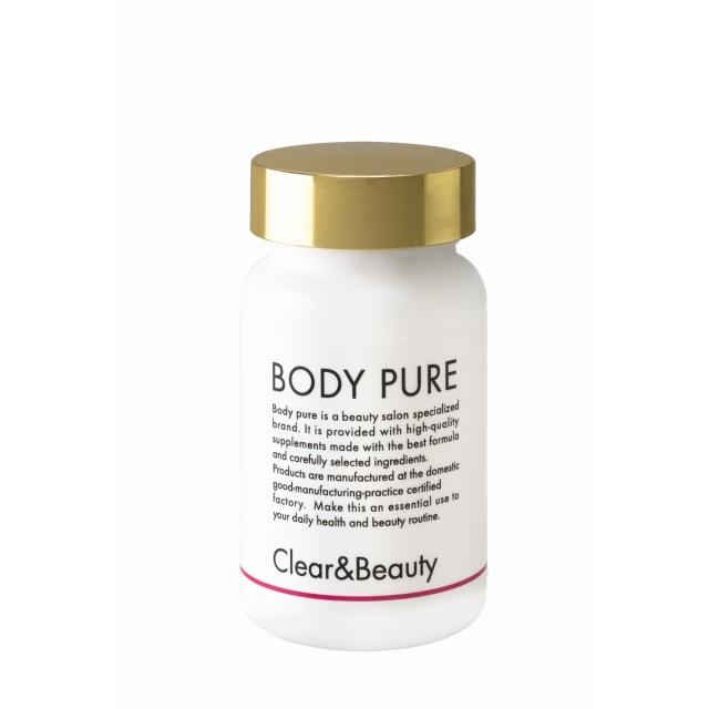BODY PURE クリア&ビューティー〈セラミドプラス〉120粒 医療レベルの透明感のある美しさに導くサプリメント