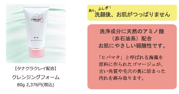 【美肌日記】第二章クレンジング・フォーム(クレイタイプ)